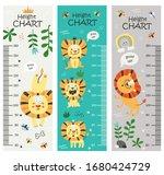 kids height chart. vector...   Shutterstock .eps vector #1680424729