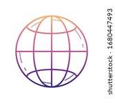planet earth nolan icon. simple ...