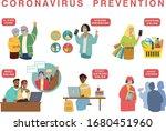 novel coronavirus  2019 ncov  ... | Shutterstock .eps vector #1680451960