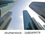 office building as the... | Shutterstock . vector #168049979