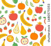 seamless pattern with... | Shutterstock .eps vector #1680575353