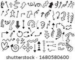 hand drawn doodle design... | Shutterstock .eps vector #1680580600