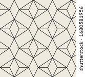 vector seamless pattern. modern ... | Shutterstock .eps vector #1680581956