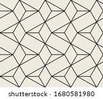 vector seamless pattern. modern ... | Shutterstock .eps vector #1680581980