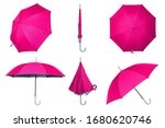 Collection Of Pink Umbrellas...