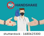 a young doctor in medical...   Shutterstock .eps vector #1680625300