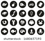 meat   seafood icons white on... | Shutterstock .eps vector #1680657193