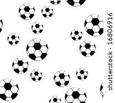 design football seamless pattern   Shutterstock .eps vector #16806916