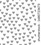 romantic background. grey... | Shutterstock .eps vector #1680723673