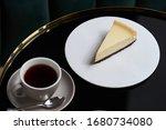 cup of tea and slice of... | Shutterstock . vector #1680734080