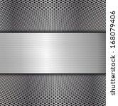 metal background  | Shutterstock .eps vector #168079406
