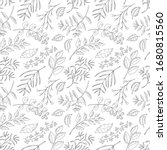 vector seamless pattern with... | Shutterstock .eps vector #1680815560