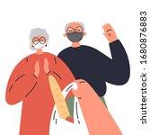 coronavirus. novel virus 2019... | Shutterstock .eps vector #1680876883