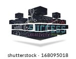 success brainstorm on abstract... | Shutterstock . vector #168095018