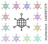 global management multi color...