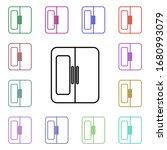 fridge line multi color style...