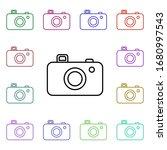 camera line multi color style...