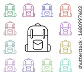 backpack line multi color style ...