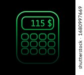 calculating money on a...
