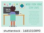 vector illustration of work...   Shutterstock .eps vector #1681010890