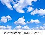 Beautiful Blue Cloudy Sky In...