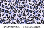 leopard pattern seamless....   Shutterstock .eps vector #1681033006