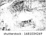 black and white grunge texture. ... | Shutterstock .eps vector #1681034269