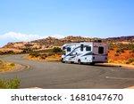 Arches National Park  Utah Usa  ...