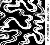 brush abstract pattern. grunge... | Shutterstock .eps vector #1681098643