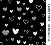 Heart Doodles Seamless Pattern...