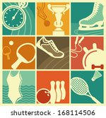 Vintage Sport Symbols