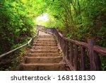 Stairway To Forest  Erawan...