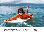 Surfer Girl In Medical...