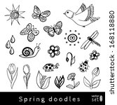 Vector Set Of Spring Related...