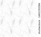 seamless pattern with raw... | Shutterstock . vector #1681233286