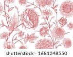 Floral Seamless Pattern. Garden ...