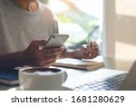 working from home  casual...   Shutterstock . vector #1681280629