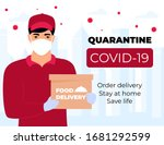 covid 19. quarantine in the... | Shutterstock .eps vector #1681292599