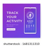 fitness app  activity tracker...