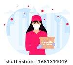 covid 19. quarantine in the... | Shutterstock .eps vector #1681314049