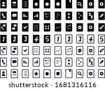 icon set for phone  people ... | Shutterstock .eps vector #1681316116
