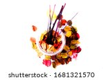 The Colorful Potpourri And Tree ...