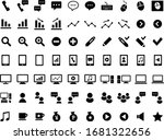 business icon set  computer ... | Shutterstock .eps vector #1681322656