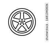 car wheel icon    logo isolated ...   Shutterstock .eps vector #1681340836