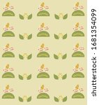vector images of snails with... | Shutterstock .eps vector #1681354099