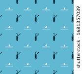 set swiss army knife and shark... | Shutterstock .eps vector #1681357039