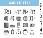 air filter and airflow... | Shutterstock .eps vector #1681373749