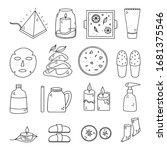 cute doodle illustration of... | Shutterstock .eps vector #1681375546