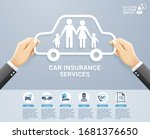 insurance policy services... | Shutterstock .eps vector #1681376650