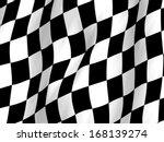 Wavy Checker Flag Pattern ...
